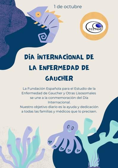 Hoy, 1 de Octubre, es el día internacional dedicado a crear conciencia sobre la enfermedad de Gaucher